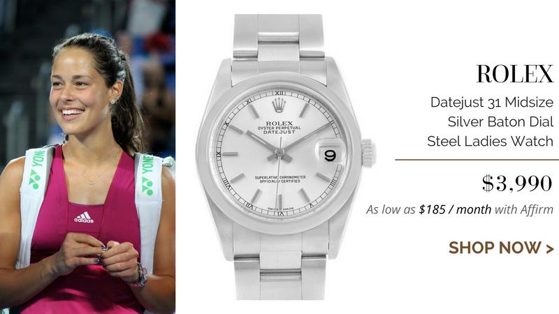 Rolex Datejust 31 Midsize Silver Baton Dial Steel Ladies Watch