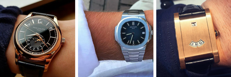 Patek Philippe and Cartier