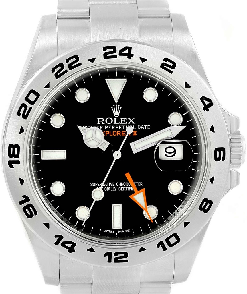 Rolex Explorer II Black Dial
