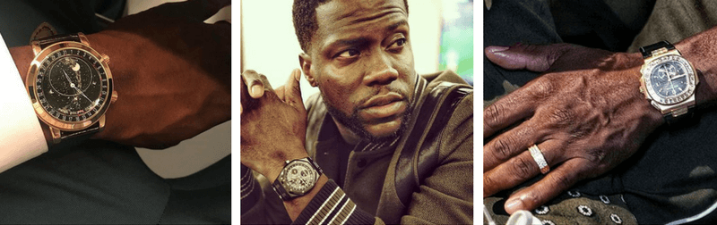 kevin hart watch collection