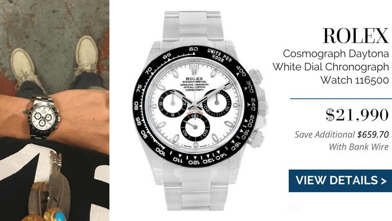 Rolex Cosmograph Daytona White Dial Chronograph Watch