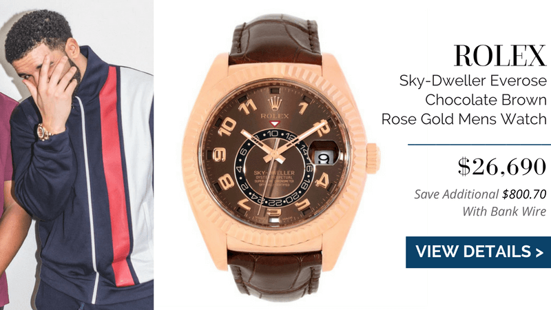 Rolex Sky-Dweller Everose Chocolate Brown Rose Gold