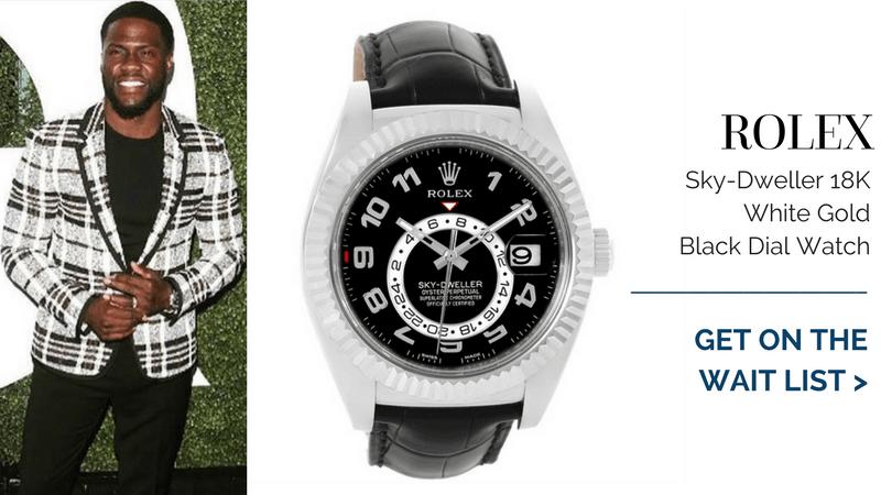 Rolex Sky-Dweller, kevin hart watch collection