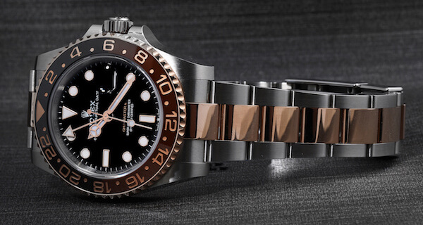 Rolex GMT Master II Steel Everose Gold