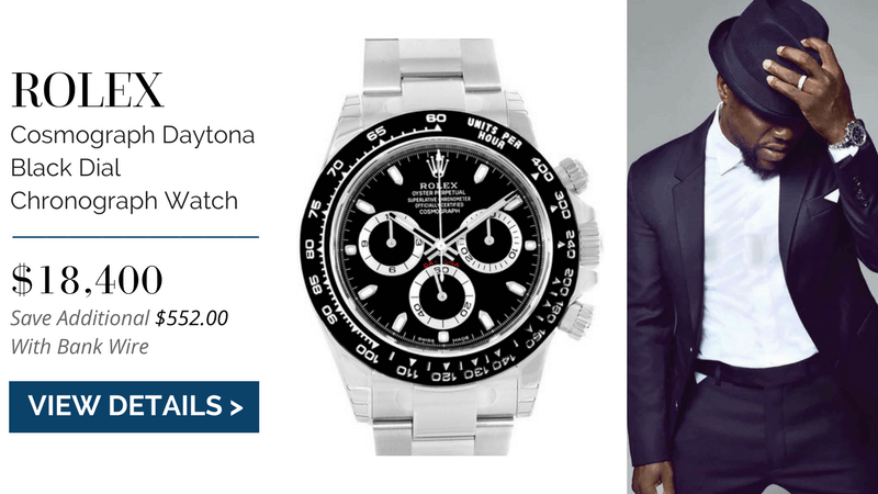 Rolex Cosmograph Daytona, kevin hart watch collection