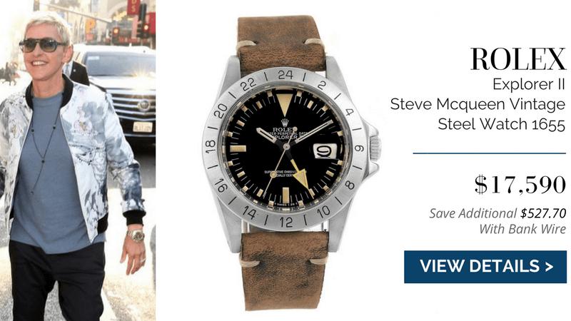 Rolex Explorer II Steve Mcqueen Vintage