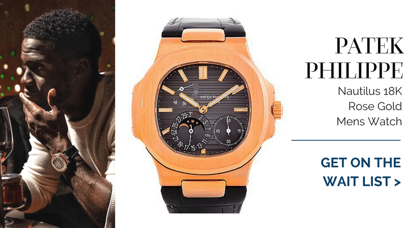 Patek Philippe Nautilus, kevin hart watch collection