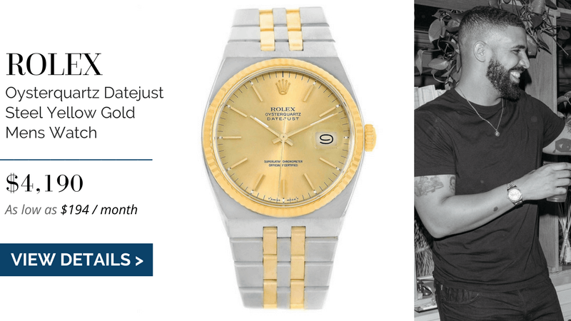 Rolex Oysterquartz Datejust Steel Yellow Gold
