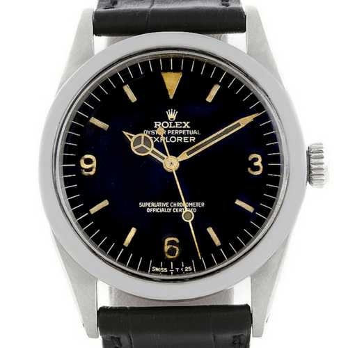 Rolex Explorer Vintage Steel Watch 1016