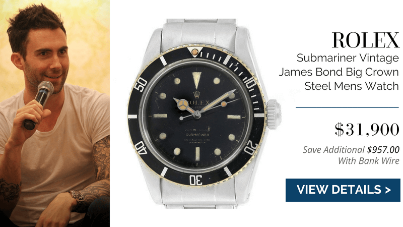 Rolex Submariner Vintage James Bond