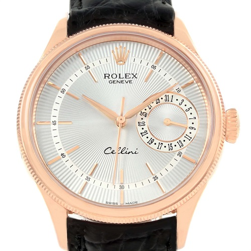 Rolex Cellini Date 18K Everose Gold