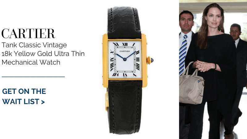Cartier Tank Classic Vintage 18k Yellow Gold
