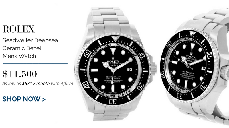 Rolex Seadweller Deepsea Ceramic Bezel Mens Watch