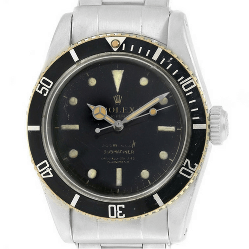 Rolex Submariner Vintage James Bond Big Crown