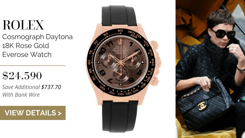 Rolex Cosmograph Daytona 18K Rose Gold