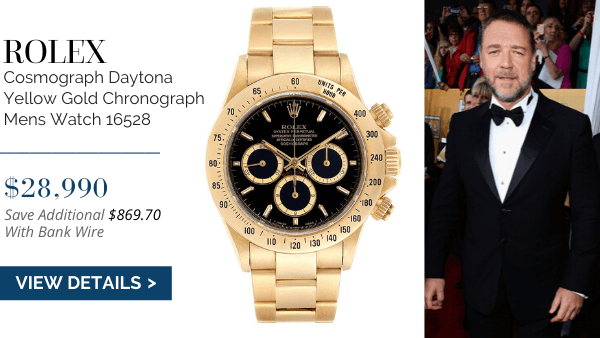 Daytona Yellow Gold Chronograph