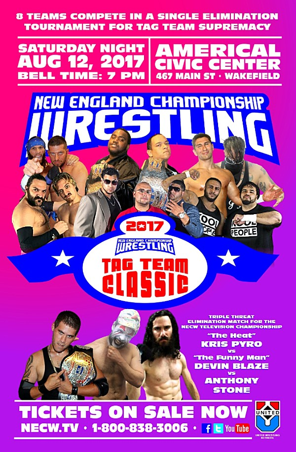 NECW presents SUMMER SERIES 2017