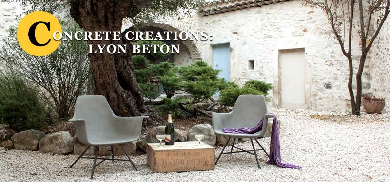 Lyon Beton concrete creations
