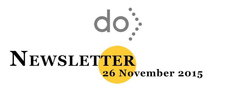 26 November Newsletter