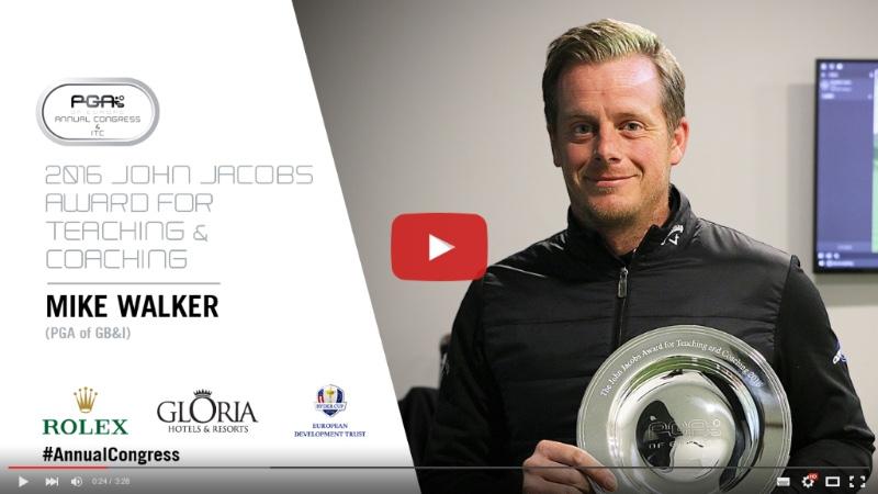 Mike Walker Lands Top European Coaching Award in Name of Late-Great John Jacobs - https://youtu.be/qjwr0YyTYfE
