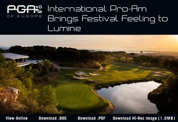 International Pro-Am Brings Festival Feeling to Lumine - 2017 Lumine International Pro-Am