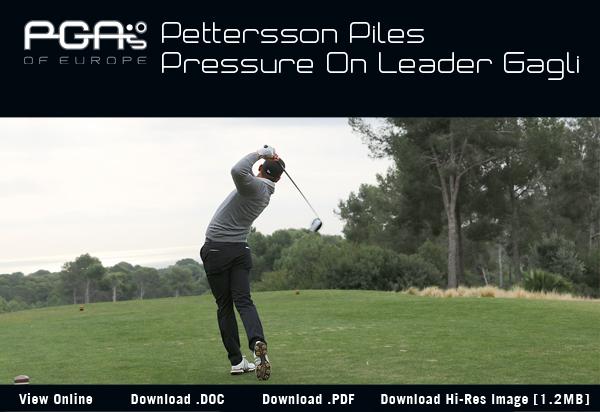 Pettersson Piles Pressure On Leader Gagli - 2017 Lumine International Pro-Am
