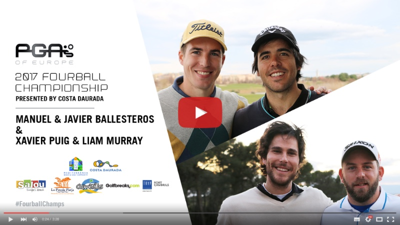 Watch Interview Highlights With Manuel & Javier Ballesteros and Xavier Puig & Liam Murray - https://youtu.be/MD1Xo-N9ttI
