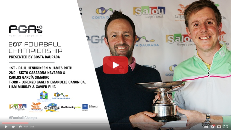 Watch Interview Highlights With 1st, 2nd and 3rd places in the 2017 Fourball Championship - https://youtu.be/0b4zP3mhG38