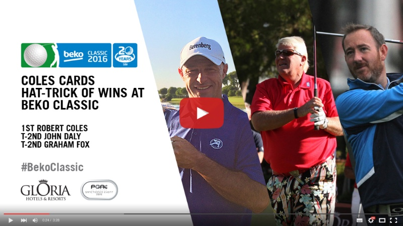 Watch interview highlights with Robert Coles, John Daly & Graham Fox - https://youtu.be/eQOxCOJij6I