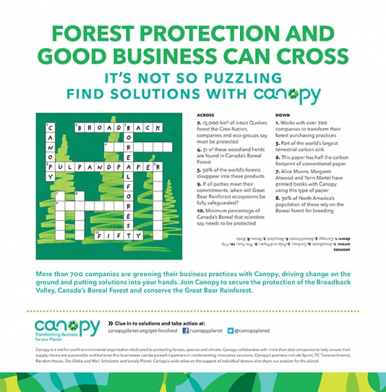 Canopy's Good Business Crossword