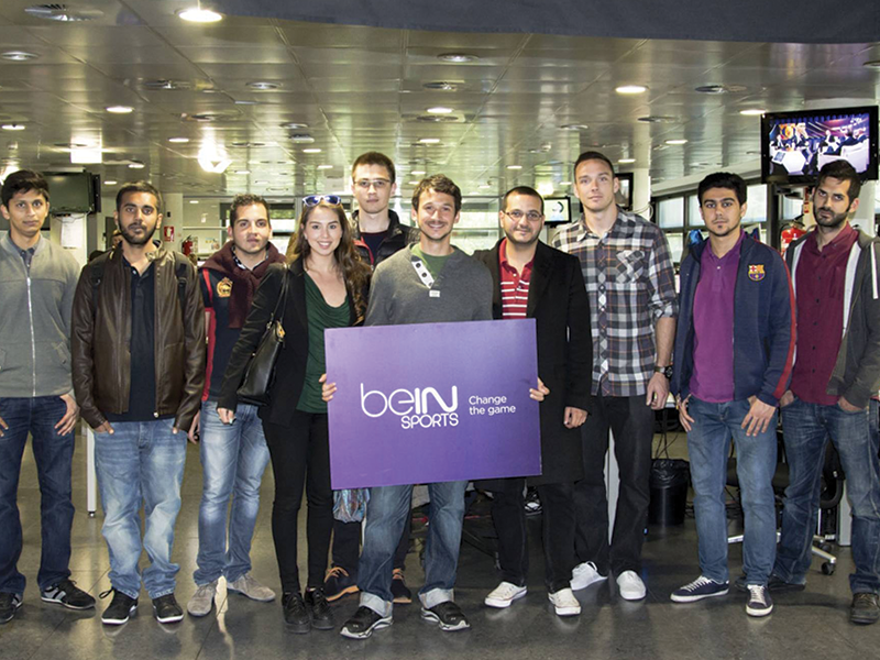 EU students visit Mediapro & BeIN Sports companies