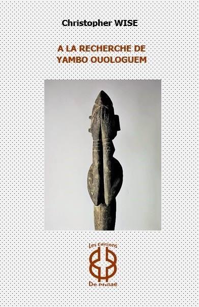 À la recherche du Yambo Ouologuem Book Jacket