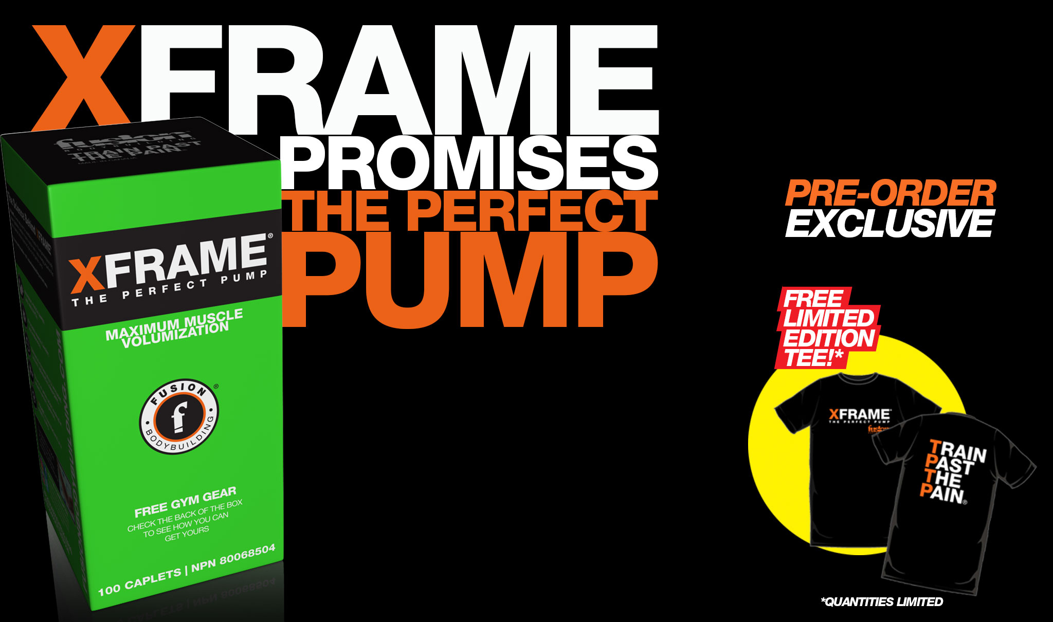XFRAME - PRE-ORDER EXCLUSIVE!