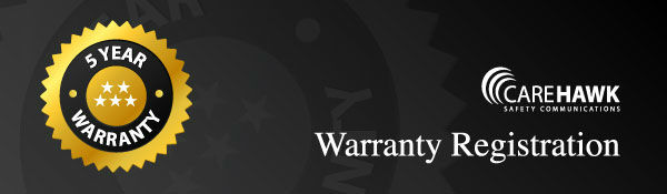 Carehawk Warranty Registration