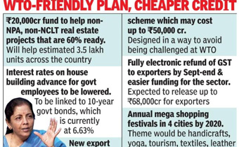 Government unveils 3rd eco booster, focuses on housing, exports