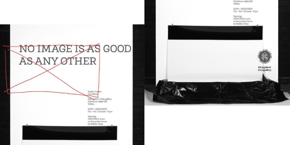 """""""No Image Is As Good As Any Other"""" EKA Galeriis"""