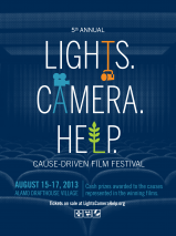Lights. Camera. Help. Cause-Driven Film Festival