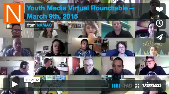 Youth Media Virtual Roundtable