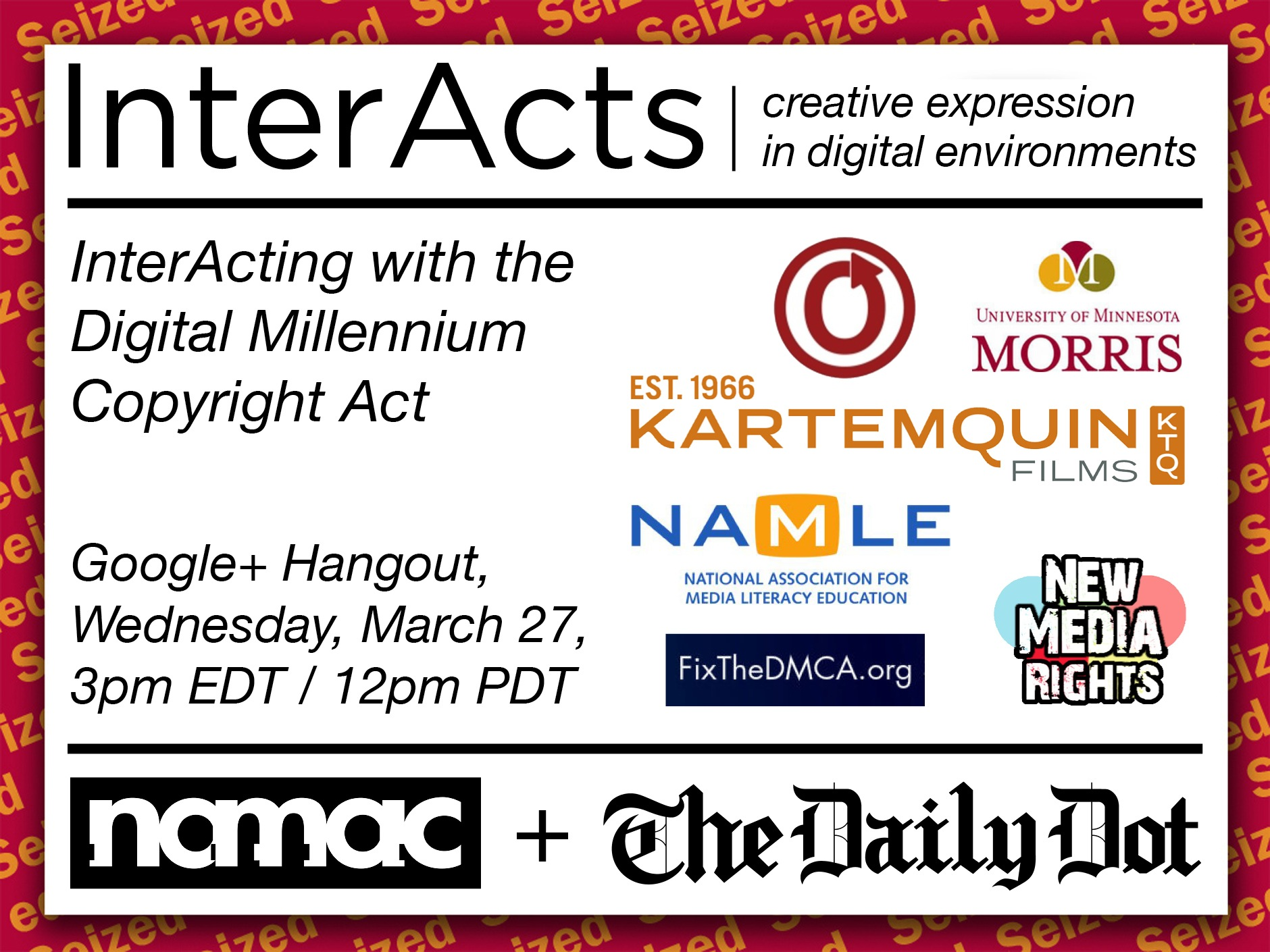 InterActing with the Digital Millennium Copyright Act