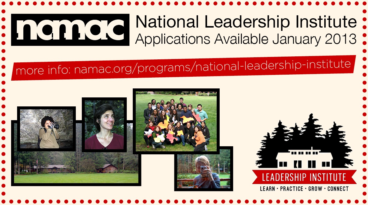 National Leadership Institute, applications available January 2013