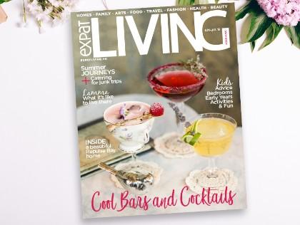 Expat Living Hong Kong magazine cover