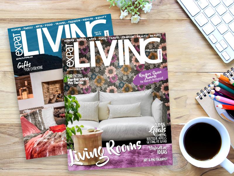Expat Living Hong Kong magazine