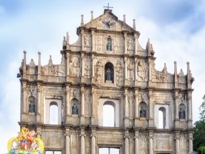 Top things to do in Macau - ruins of St Pauls