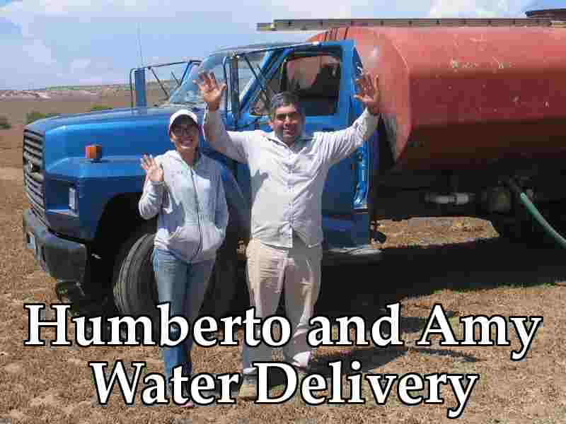 Humberto and Amy - Water Delivery