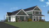 NEt Zero Homes designed in Ashland MA by GMT Home Designs
