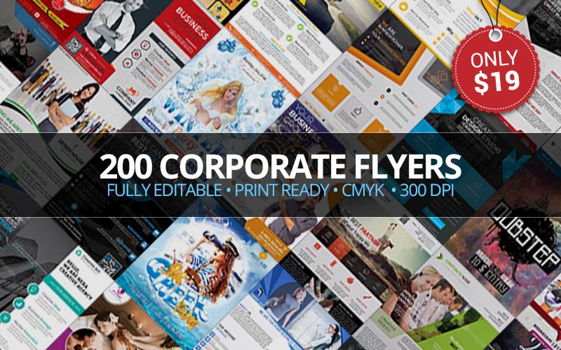 200 Corporate Flyer Templates