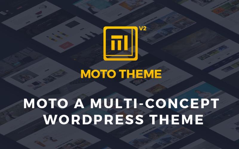 Moto Theme- Ultimate WP Theme
