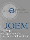 Image result for Journal of Occupational & Environmental Medicine