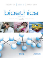 Image result for Bioethics journal
