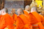 File:Buddist Monks Wat Benchamabophit Temple (8281437863).jpg